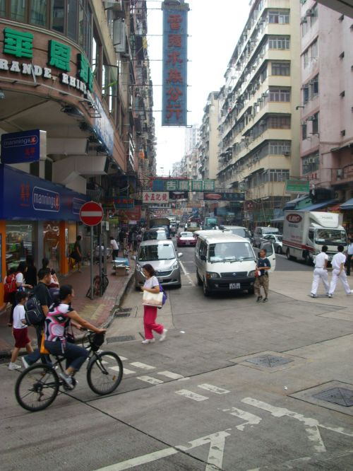 Kowloon real Shenmue locations: An usual street in Kowloon